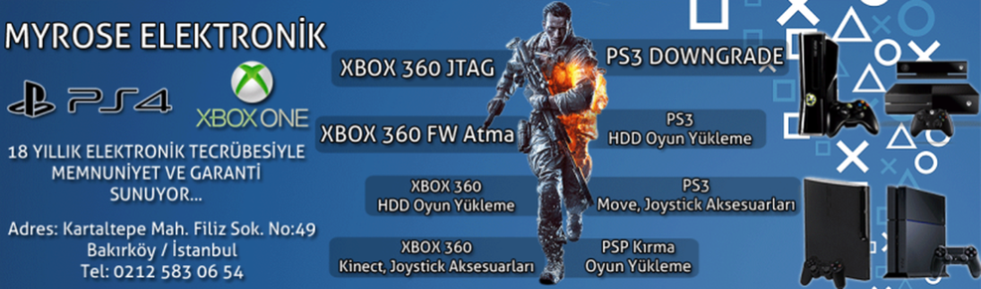 Xbox JTAG, Xbox FW ve PS3 Versiyon Düşürme Platformunuz